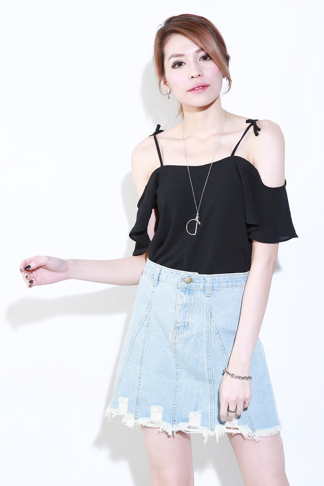 (BACKORDER) Shiya Denim Skirt