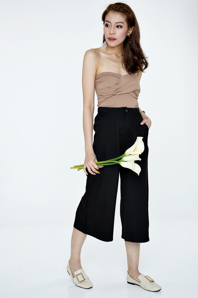 IN STOCK - ZADIE PANTS IN BLACK