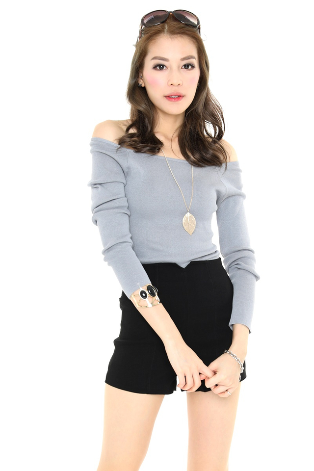 (BACKORDER) Ripley Top in Grey