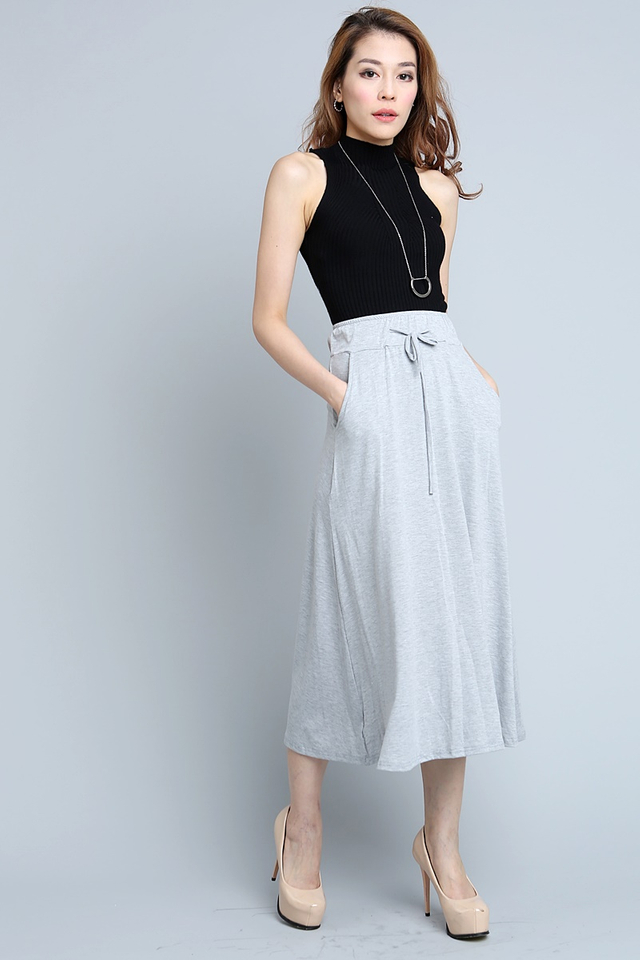 SG IN STOCK - Larissa Skirt in Grey