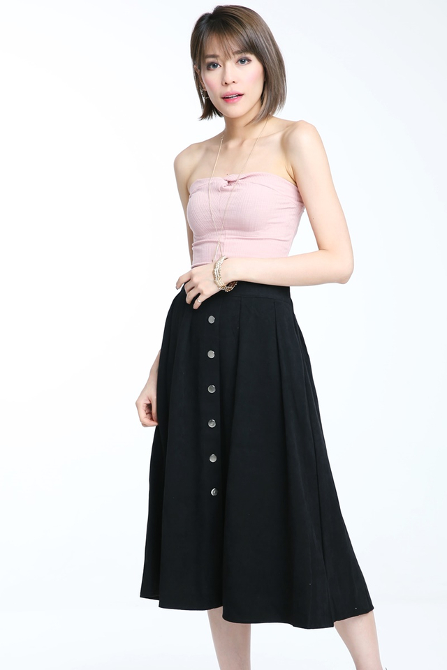 BACKORDER- Jocy Skirt in Black
