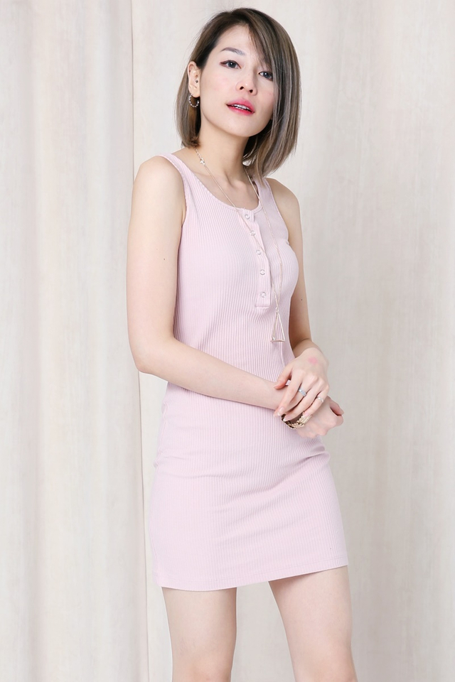 IN STOCK- Guido Dress in Light Pink