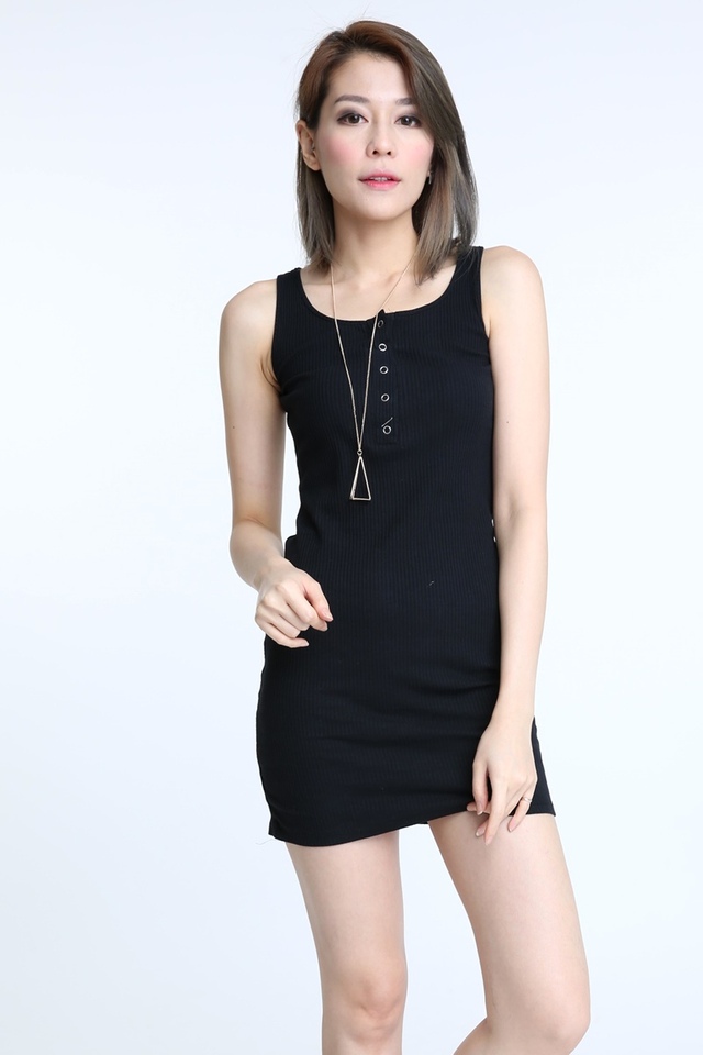 IN STOCK - GUIDO DRESS IN BLACK