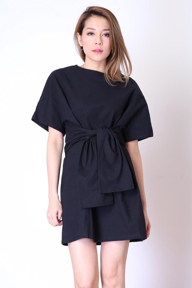 BACKORDER - EUGENIA DRESS IN BLACK