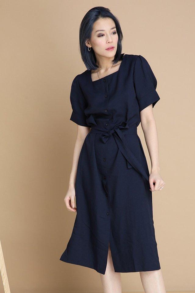 BACKORDER - LORA DRESS IN BLUE