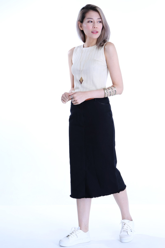 BACKORDER - MIARA SKIRT IN BLACK