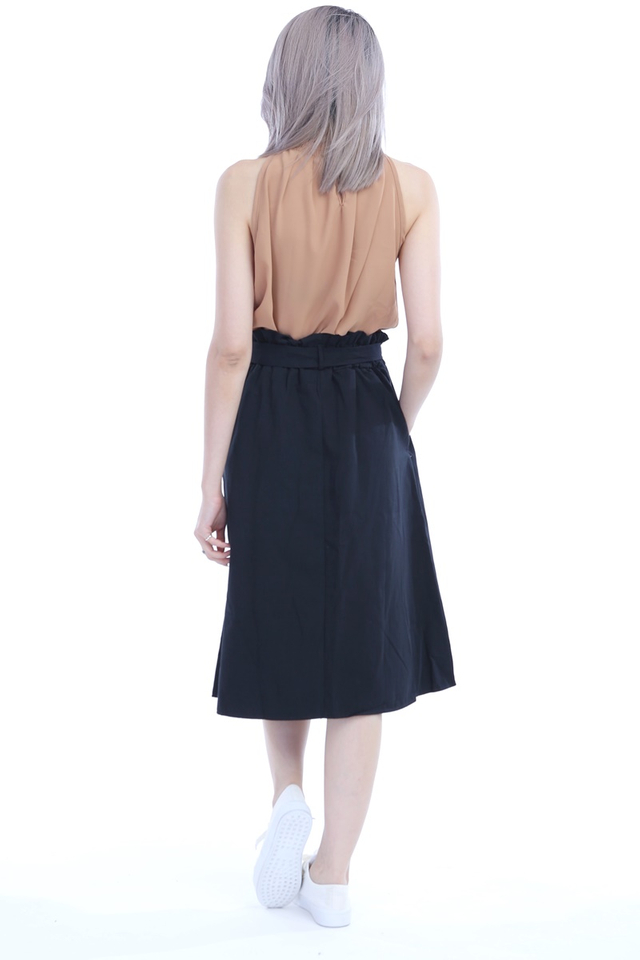 BACKORDER - DAXTON SKIRT IN BLACK