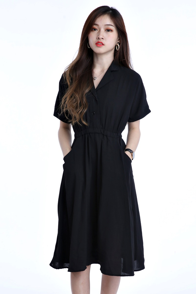 IN STOCK - JAMES BLACK DRESS