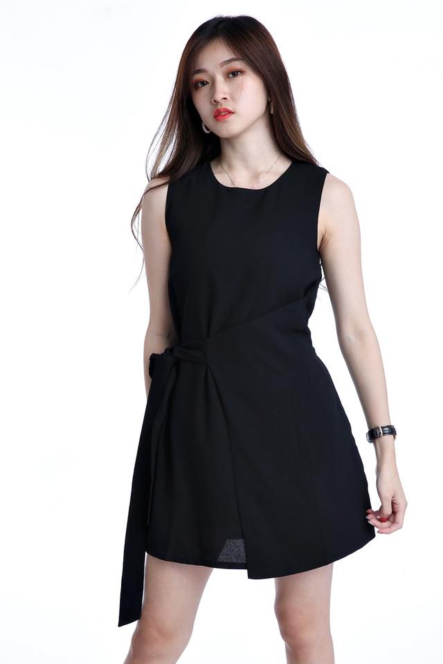 BACKORDER - FREDO DRESS IN BLACK