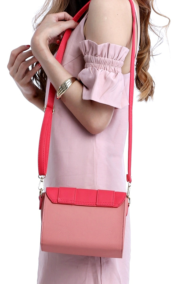 BACKORDER - CAMBRIDGE BAG IN MIX PINK