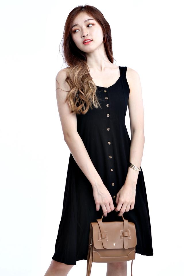 BACKORDER- MICAH DRESS IN BLACK