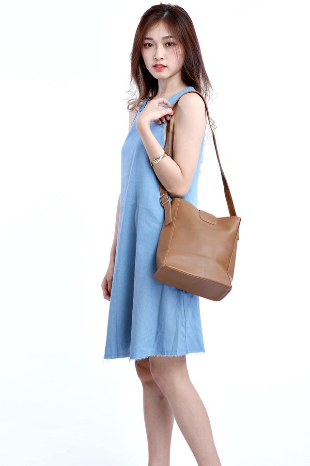 BACKORDER - ESTHER SLING BAG IN BROWN