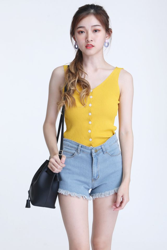 IN STOCK- ALCOTT TOP IN YELLOW