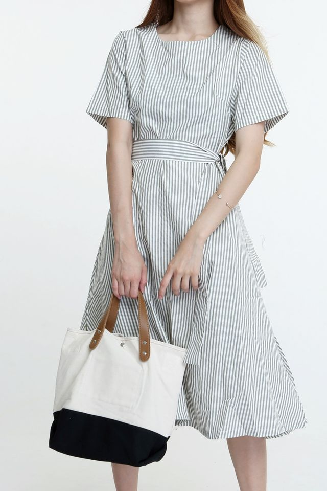 IN STOCK - WATSON CONTRAST CANVAS TWO WAY BAG