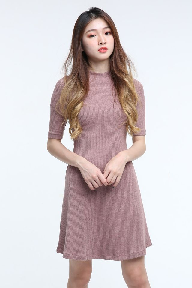 BACKORDER- DALARY A LINE DRESS IN PINK