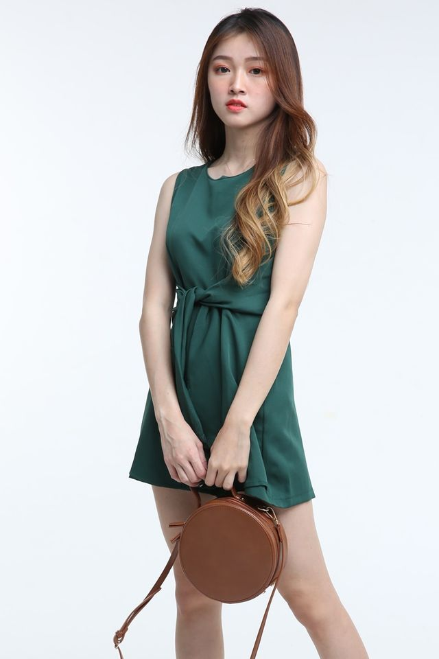BACKORDER- LEO ROMPER IN GREEN