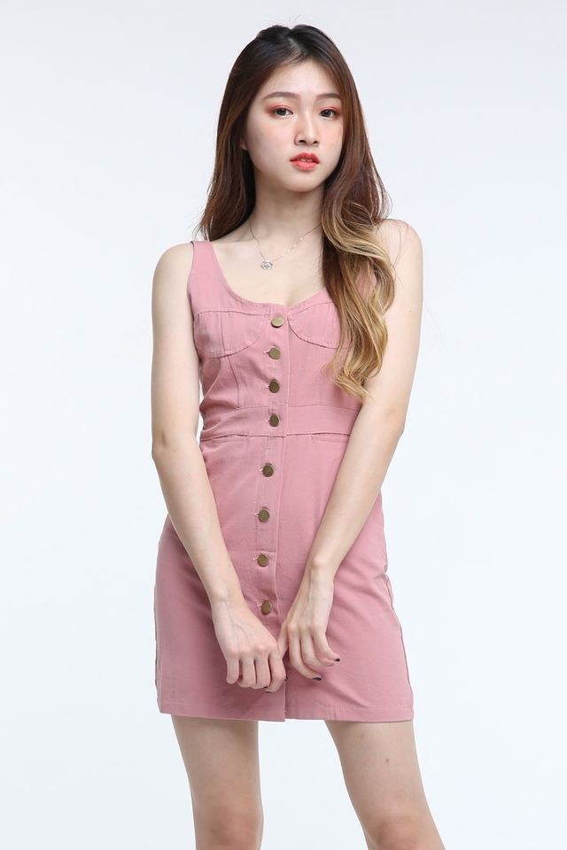 BACKORDER - NAVA DRESS IN PINK