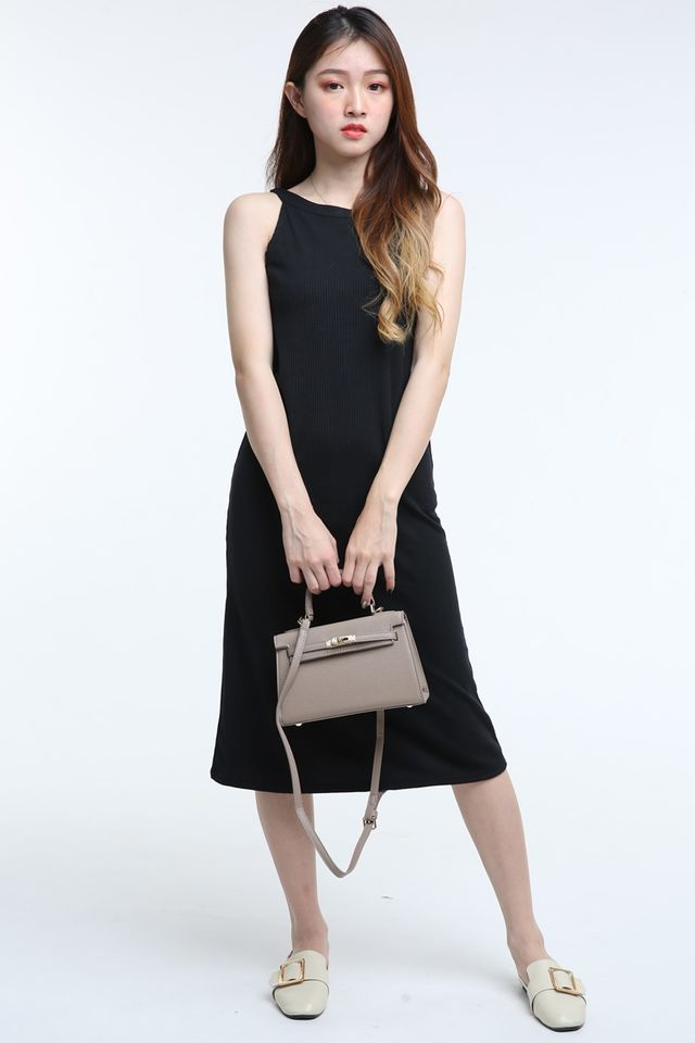 BACKORDER - ZECH DRESS IN BLACK