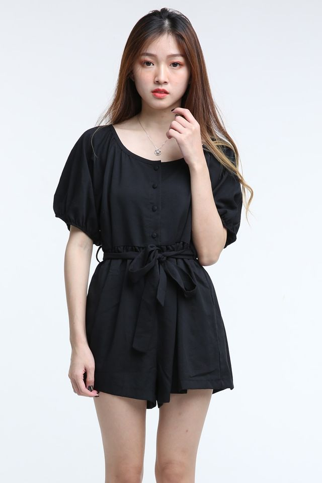 BACKORDER - JALA ROMPER IN BLACK