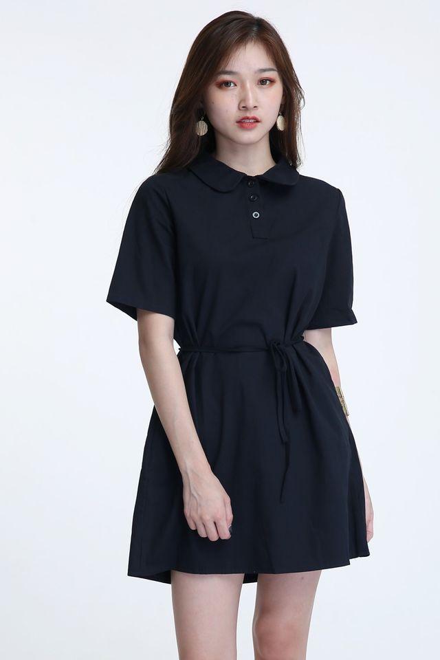 BACKORDER- ELIO DRESS IN BLACK