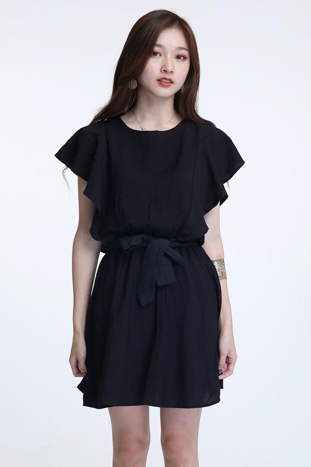 BACKORDER- KEIR DRESS IN BLACK