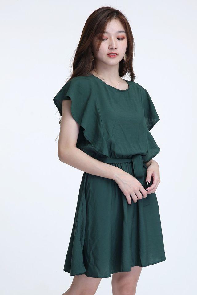 BACKORDER - KEIR DRESS IN GREEN