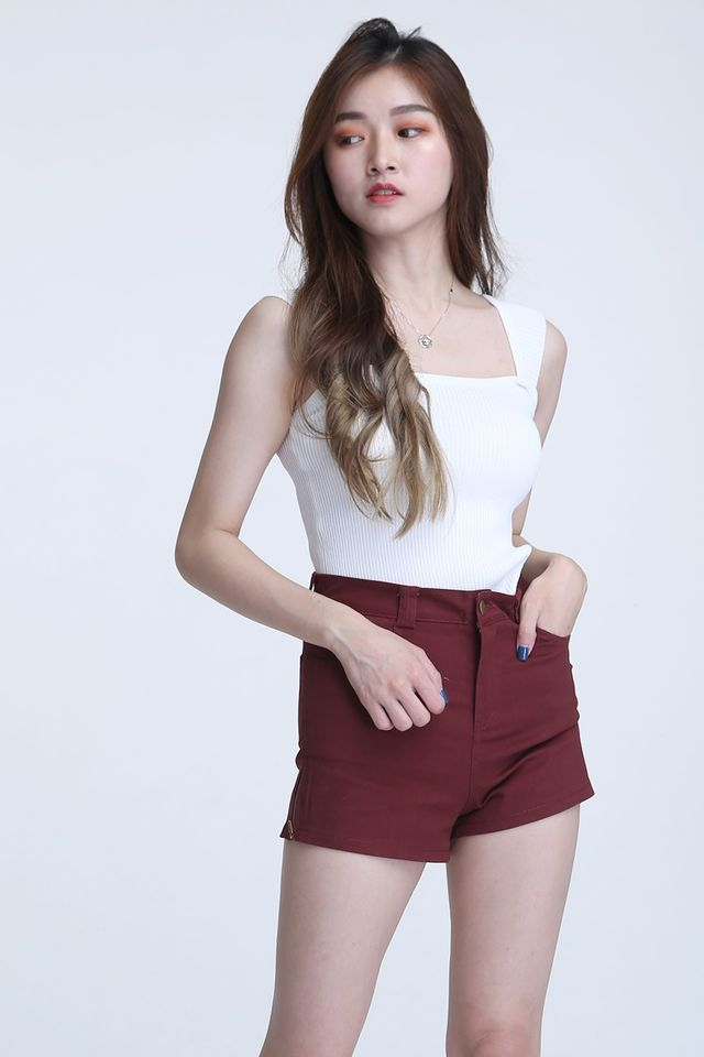 BACKORDER - ALFRED TOP IN WHITE