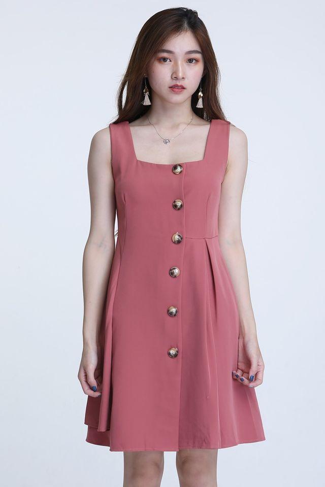 BACKORDER -RUBY DRESS IN PINK