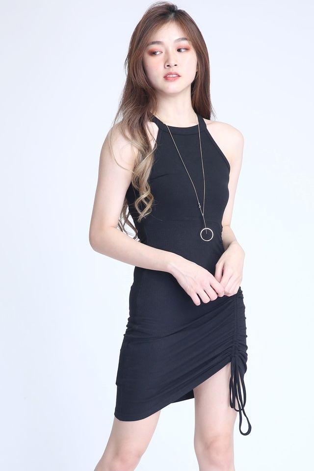 IN STOCK - HANK DRESS IN BLACK