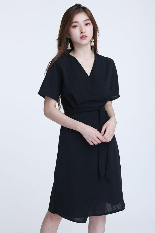 BACKORDER - ARNOLD DRESS IN BLACK
