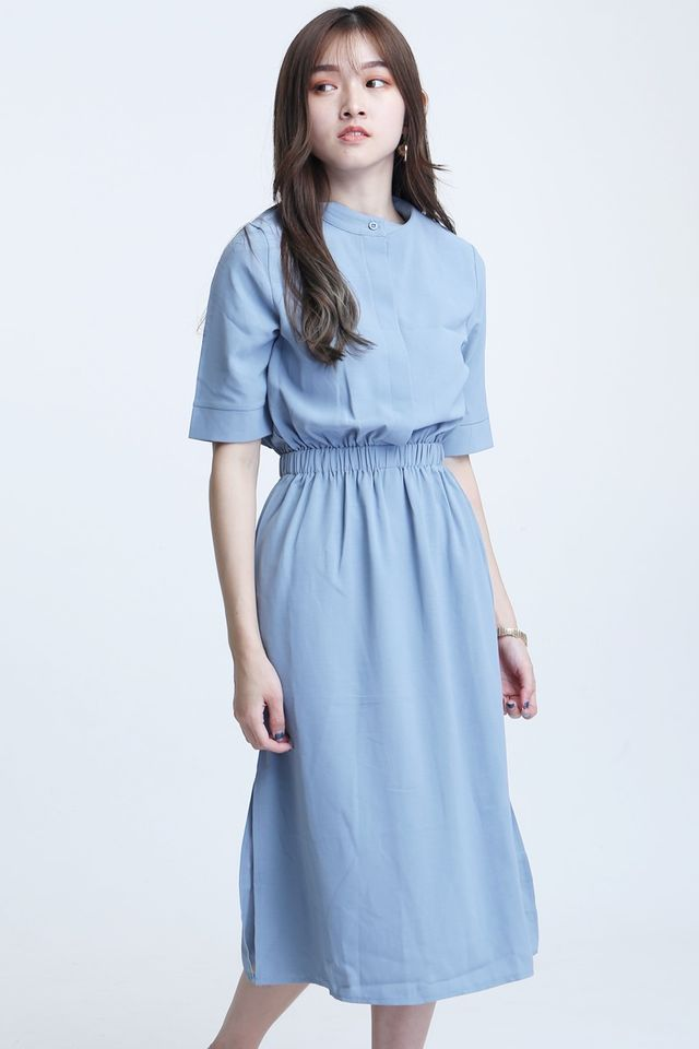 BACKORDER-NEVADA LONG DRESS IN BLUE