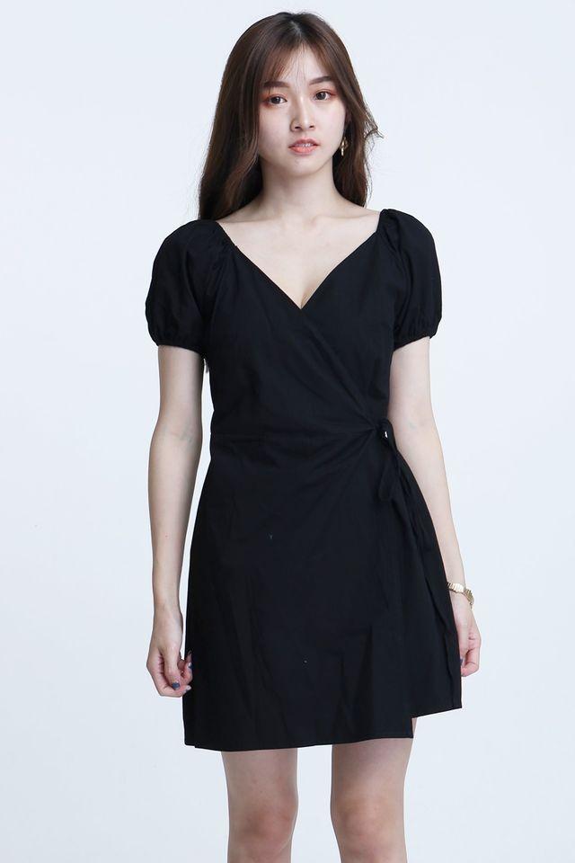 IN STOCK  - MATEO DRESS IN BLACK