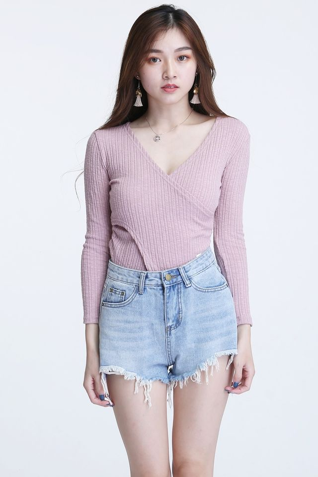 IN STOCK - LEVI TOP IN PINK