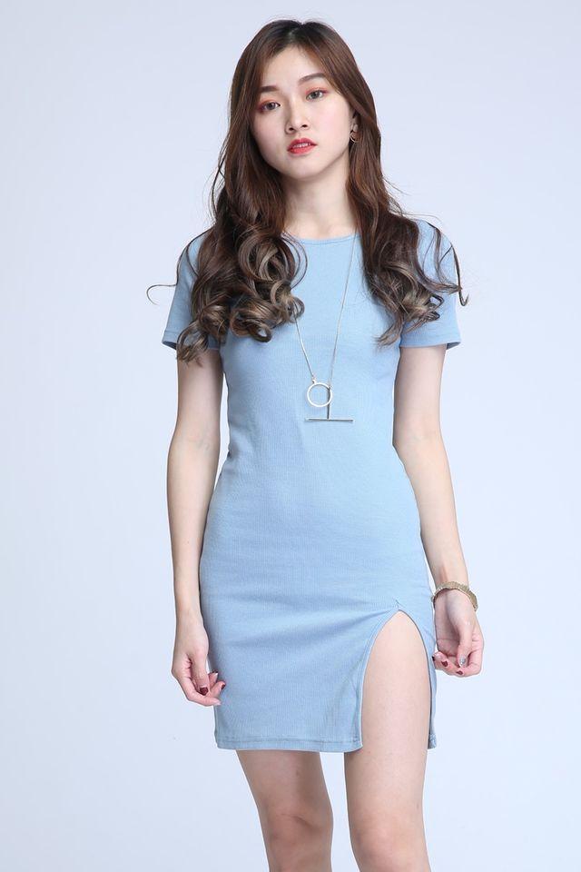 BACKORDER - DILLAN DRESS IN BLUE