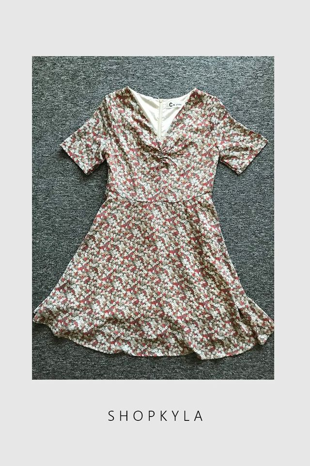 SG IN STOCK- KENNIS FLORAL DRESS