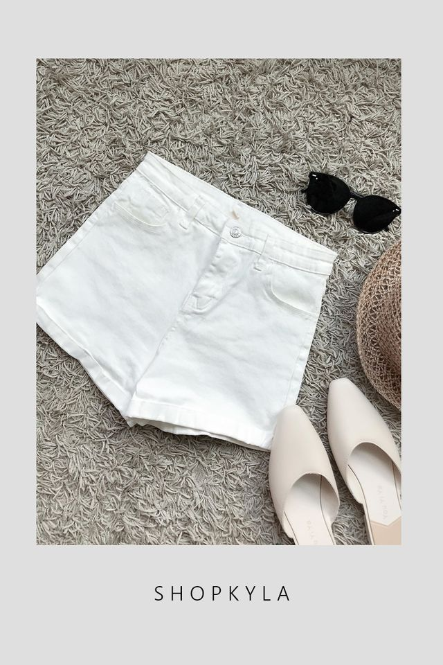 BACKORDER - CANDICE  PANTS IN WHITE