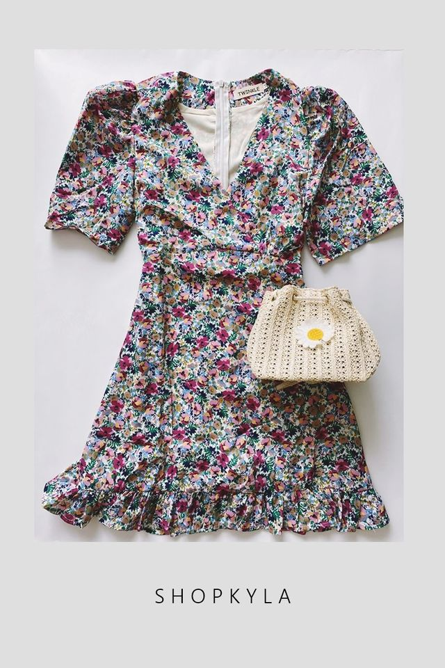 IN STOCK-MIA FLORAL DRESS