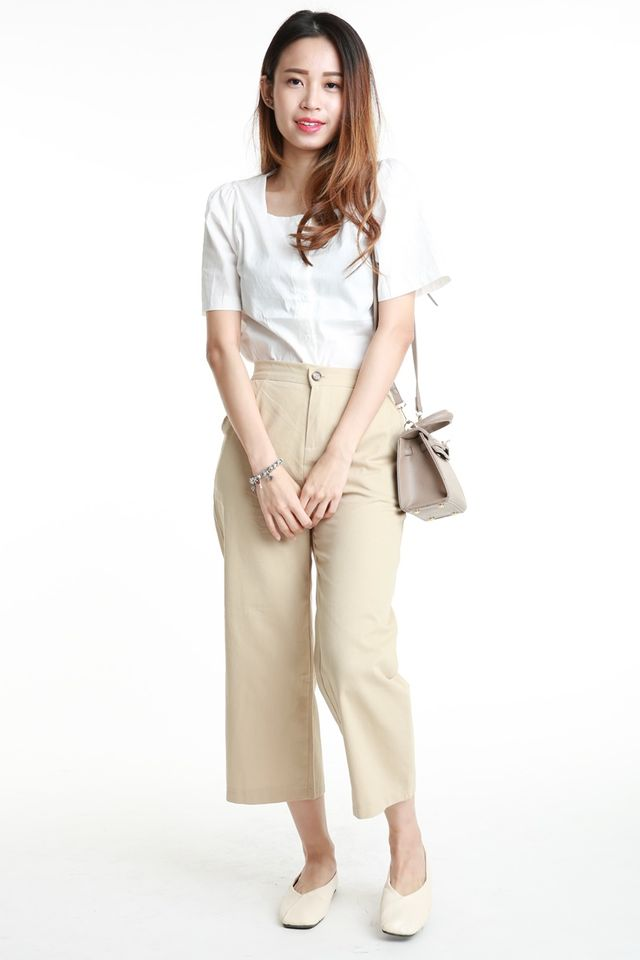 SG IN STOCK - RYAN PANTS IN BROWN