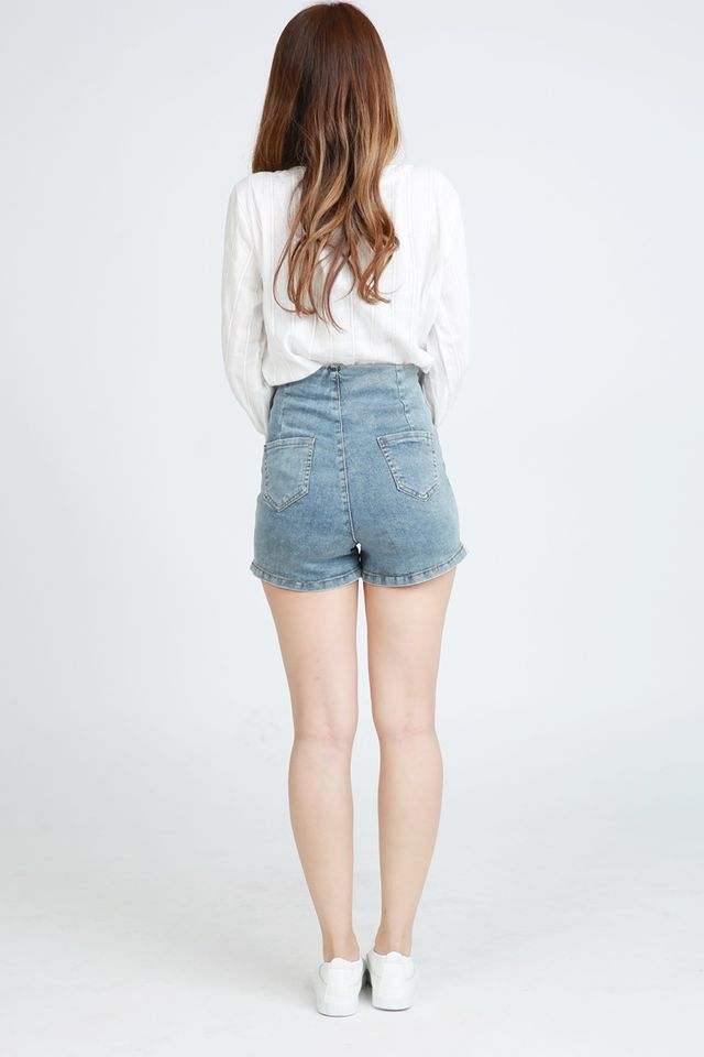 BACKORDER - MELVALINE HIGH WAIST JEANS PANTS