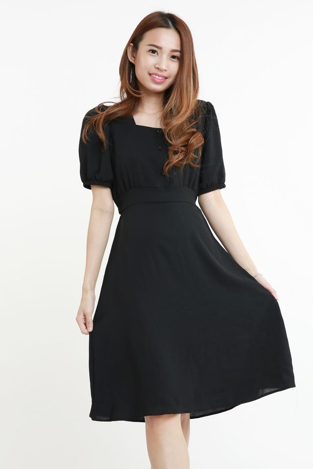 BACKORDER - GRAYSON DRESS IN BLACK