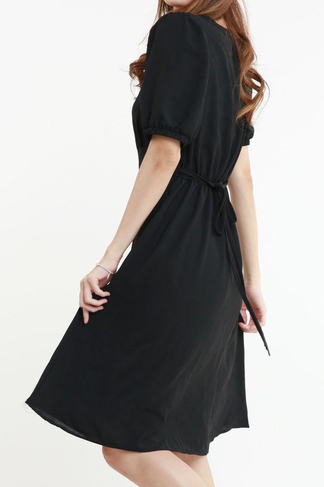 BACKORDER - GRAYSON DRESS IN BLACK