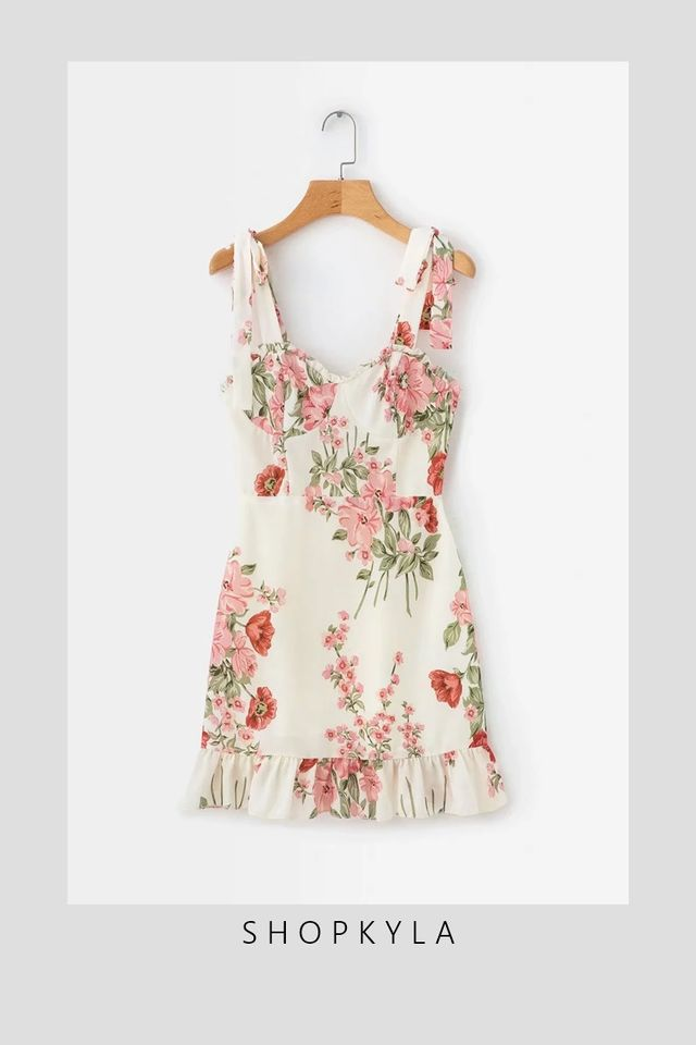 BACKORDER - KASPER FLORAL DRESS IN PINK FLORAL